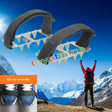 Winter Ice Snow Anti Slip Spikes Grips Grippers Crampon Cleats For Shoes Gift