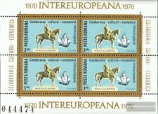 Romania block152 (complete issue) unmounted mint / never hinged 1978 INTEREUROPA
