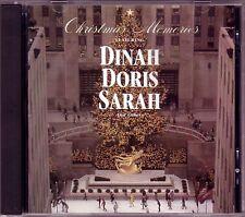 New ListingChristmas Memories featuring Dinah, Doris, Sarah and other Cd 1991