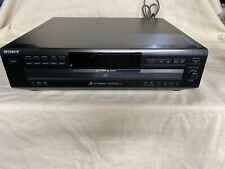 New listing Sony Cdp Ce315 5 Disc Cd Tray Compact Disc Player Comopnent Changer