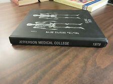 Jefferson Medical College 1979 Yearbook Clinic HC FREE SHIP