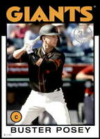 Buster Posey 2021 Topps 5x7 1986 Baseball 35th Anniversary #86B-58 /49 Giants
