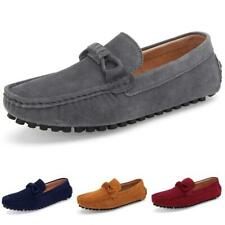 Men Pumps Slip on Loafers Driving Moccasin Faux Leather Business Leisure Shoes L