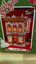 """Department 56 A Christmas Story Lighted Building """"The Joke Shop"""" read details"""