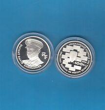 LA Liberté retrouvée  100 Francs en argent 1994 Dwight David Eisenhower