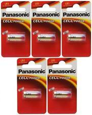 5 X Panasonic Lr1 Batería 1.5 v (tipo N / mn9100) (5 Baterías) - Nuevo