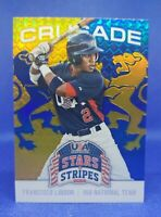 Francisco Lindor 2015 USA Baseball Crusade Stars & Stripes #39 Rookie