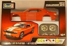 Revell 1/25 2013 Challenger SRT8 Model Kit with Orange  White Stripe 4358