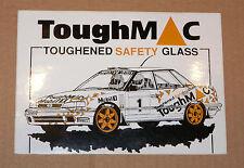 Bertie Fisher Toughmac Subaru Legacy Rally Motorsport Sticker Decal