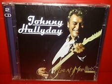 2 CD JOHNNY HALLYDAY - LIVE AT MONTREUX 1988 - NUOVO NEW