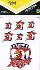 NRL Sydney Roosters UV Car Tattoo iTag Sticker Decal
