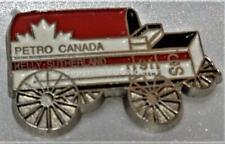 CALGARY STAMPEDE 1991 CHUCKWAGON KELLY SUTHERLAND the PETRO CANADA Pin