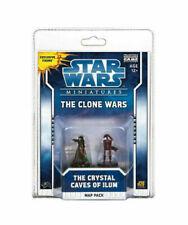 Star Wars The Clone Wars Juego de Miniaturas d20 Cristal Paquete de mapa Cuevas de Ilum