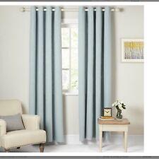 Barathea John Lewis Lined Eyelet Heading Curtains W228cm D182 cm