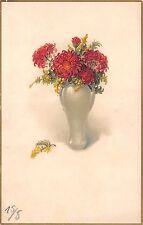 AK Litho. Chrysanthemen Künstlerkarte Meissner & Buch Postkarten