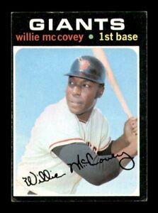 1971 Topps Set Break # 50 Willie McCovey EX *OBGcards*