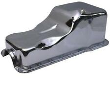 Ford Chrome Steel Oil Pan Small Block 351W Mustang Front Sump Mercury F100 GT