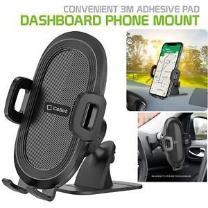 Cellet Car Dashboard Mount Strong 3M Sticky Pad Adjustable Smartphone Holder
