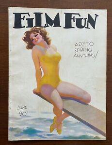 Film Fun Magazine June 1933 Pinups