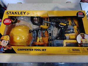 Stanley Jr Carpenter Tool Set | 50 Tools & Accessories NEW in box free shipping