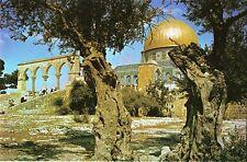 Postcard Israel Jerusalem Dome of the Rock Temple Mount Unused