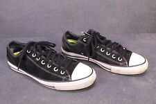 CB147 Converse All Star CTAS Chucks Low-Top Sneaker Gr. 45 Leder schwarz