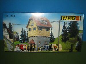 FALLER HO 954 TRANSFORMER STATION BUILDING KIT MIB UNOPENED COMPLETE UNBUILT