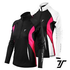 Thorogood Sports Women's Winter Run Half-Zip Long Sleeve Running / Training Top