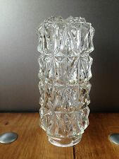 GORGEOUS TEXTURED ART DECO GLASS LAMP SHADE 6 AVAILABLE HOBNAIL CRYSTAL NOUVEAU