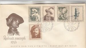 Netherlands Rembrandt First Day Cover