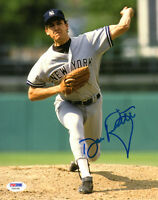 DAVE RIGHETTI SIGNED AUTOGRAPHED 8x10 PHOTO NEW YORK YANKEES PSA/DNA