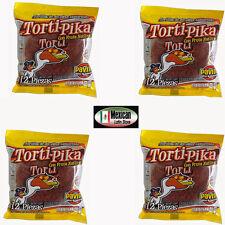 Torti-Pika Naturelle Fruit Tamarin ( ATE Sabor Tamarido) 4 X 12- Pièces Poids