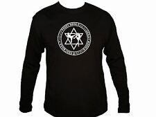 Martial Arts Israel Krav Maga close combat circle design sleeved black t-shirt