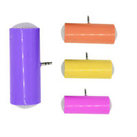 New 1pcMini Portable Stereo Speaker For iPod iPhone MP3 MP4 Generic Smartphone