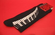 Piano Keyboard Design Men's Cotton Socks Music Teacher Musician Dad Xmas Gift