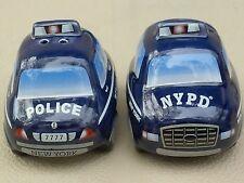 NYPD NEW YORK CITY POLICE DEPARTMENT SALT & PEPPER SHAKER SOUVENIR