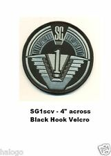 STARGATE SG-1 PATCH with HOOK BACKING- SG-1scv