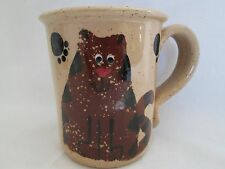 handcrafted pottery collector mug three rivers