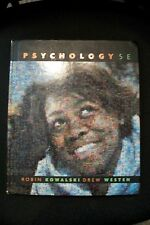 FREE SHIP College Textbook PSYCHOLOGY 5e Kowalski Westen 2004 Wiley & Sons