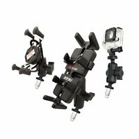 Motorcycle Bike Mount Fork Stem Base with Ball for RAM Mount Gopro Phone Holder