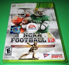NCAA Football 13 Microsoft Xbox 360 *Factory Sealed! *Free Shipping!