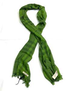 Burberry Men's Green Scarf , Scotland