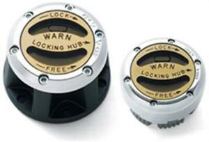 Warn 20990 Premium Manual locking Hubs Chevy Fits Dodge Ford International Jeep