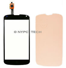 New Touch Screen Digitizer Glass Parts For LG Google Nexus 4 E960 Black+ADHESIVE