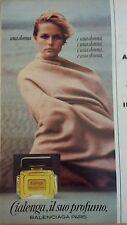 PUBBLICITA' ADVERTISING WERBUNG 1976 CIALENGA BALENCIAGA PARIS (AM22)