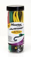 Master Lock tendeur Bocal 6 Pièces Rouge/vert/jaune 60