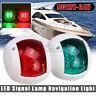 2X 12V LED Signal Lamp Navigation Lights Boat Side Lamp Red&Green Port