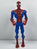 "Animated Spectacular Spiderman 6"" Action Figure 2008 Hasbro Spider-Man Marvel"