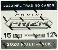 2020 PRIZM FOOTBALL NFL CELLO MULTI PACK FACTORY SEALED BOX JOE BURROW, HERBERT