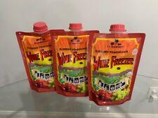 Lt. Blender's Blueberry Pomegranate Wine Freezer Lot of 3
